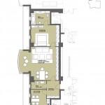 Apartament 2 camere – Varsovia