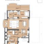 Apartament 4 camere Bogota