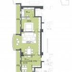 Apartament 2 camere – Belgrad
